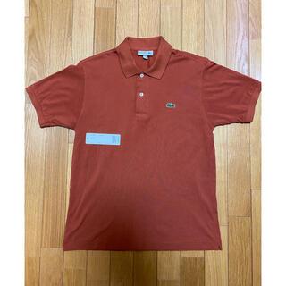 ラコステ(LACOSTE)の【美品】レアカラー 日本製 ラコステ ポロシャツ L1212AL レンガ色 3(ポロシャツ)