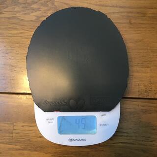 バタフライ(BUTTERFLY)のディグニクス05 特厚黒 1枚 85g(卓球)