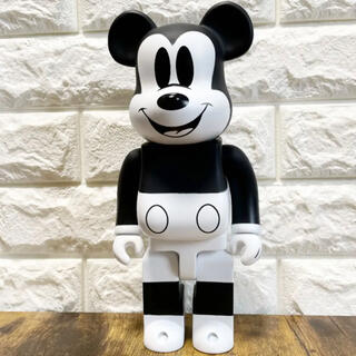 Mickey Mouse ミッキーマウス ベアブリック 400% フィギュア(キャラクターグッズ)