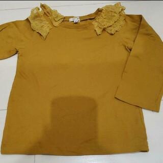 Seraph - キッズ 100 セラフ ロンT 長袖 Tシャツ イエロー 綿100% 女の子