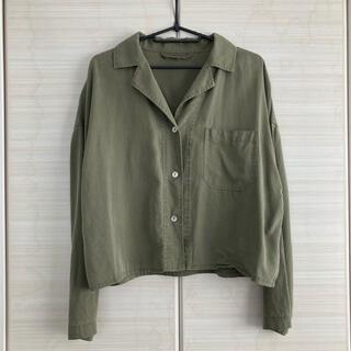 ジーナシス(JEANASIS)のJEANASiS☆ミリタリーショートシャツ(シャツ/ブラウス(長袖/七分))
