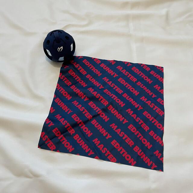 PEARLY GATES(パーリーゲイツ)の新品マスターバニーエディション ボール拭き用ホルダー&タオル スポーツ/アウトドアのゴルフ(その他)の商品写真
