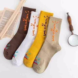 ♡ ソックス 4点セット travis scott 靴下 メンズ レディース(加湿器/除湿機)