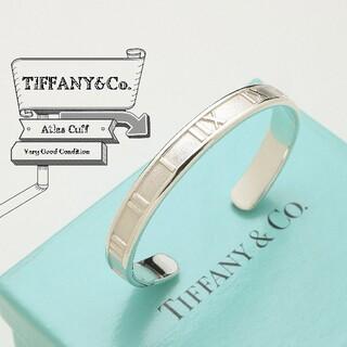Tiffany & Co. - 新品仕上げ TIFFANY ティファニー アトラス カフ 925 バングル