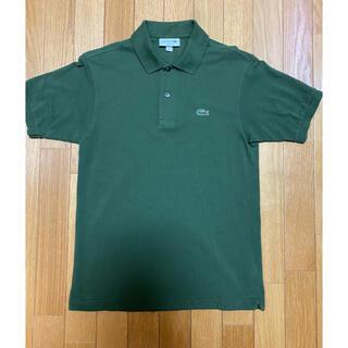 ラコステ(LACOSTE)の【美品】日本製 ラコステ ポロシャツ L1212AL カーキグリーン 3(ポロシャツ)