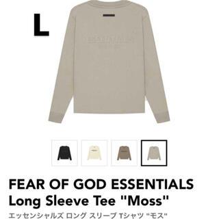 FEAR OF GOD - fog essentials ロングTシャツ モス L