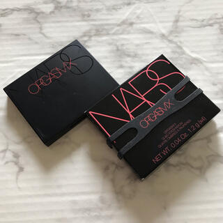 NARS - used☆NARS オーガズムX アイシャドウパレット