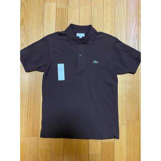 ラコステ(LACOSTE)の【美品】フランス国内販売品 ラコステ ポロシャツ L1212 ダークブラウン 3(ポロシャツ)