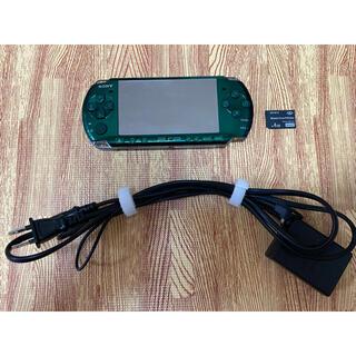ソニー(SONY)のPSP-3000、オマケソフト付き(携帯用ゲーム機本体)