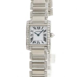 Cartier - カルティエ  タンクフランセーズ SM W51008Q3 クオーツ レデ