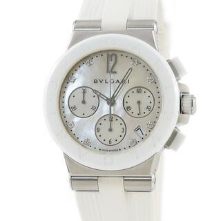 ブルガリ(BVLGARI)のブルガリ  ディアゴノ クロノ DG37SCCH 自動巻き メンズ 腕時(腕時計(アナログ))
