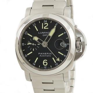 パネライ(PANERAI)のパネライ  ルミノール GMT PAM00297 自動巻き メンズ 腕時(腕時計(アナログ))