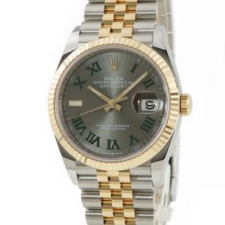 ロレックス(ROLEX)のロレックス  デイトジャスト 126233 自動巻き メンズ 腕時計(腕時計(アナログ))