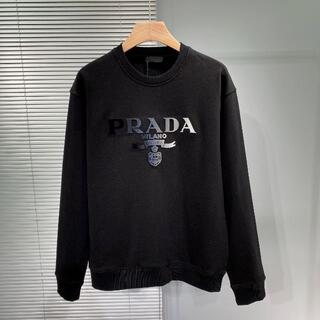 PRADA - PRADA★プラダロゴ オーバーサイズ スウェット トレーナー