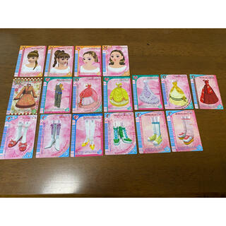 セガ(SEGA)のオシャレ魔女 ラブandベリー カード17枚セット(カード)