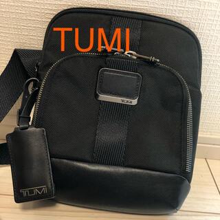 トゥミ(TUMI)のTUMI   ショルダーバッグ クロスボディ メンズ 黒 トゥミ(ショルダーバッグ)