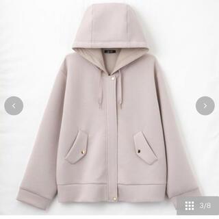 しまむら - しまむら 星玲奈 ポンチフードジャケット LLサイズ
