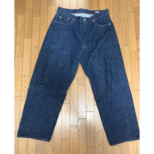 COMOLI(コモリ)のCOMOLI 5Pデニムパンツ サイズ2 ネイビー メンズのパンツ(デニム/ジーンズ)の商品写真