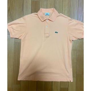 ラコステ(LACOSTE)の【美品】日本製 ラコステ ポロシャツ L1212Y シャーベットオレンジ 3(ポロシャツ)