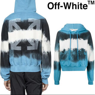 オフホワイト(OFF-WHITE)の【Off-White】タイダイ アロー フーディ パーカー プルオーバー(パーカー)