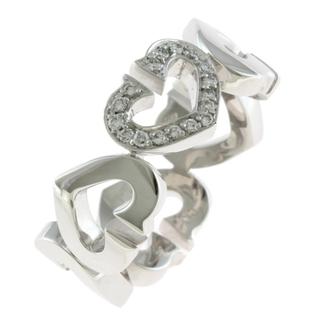 カルティエ(Cartier)の【中古】カルティエ CARTIER リング・指輪 9号 K18ホワイトゴールド(リング(指輪))