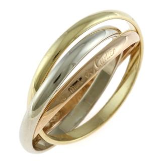 Cartier - 【中古】カルティエ CARTIER リング・指輪 10号 K18イエローゴールド