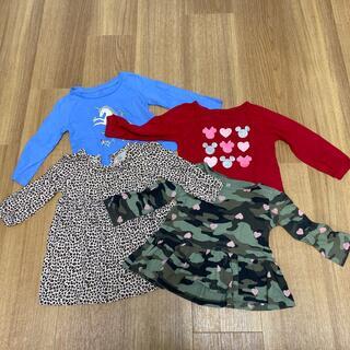 ベビーギャップ(babyGAP)のGAP  baby ロンTセット4枚セット 12-18momth(Tシャツ)