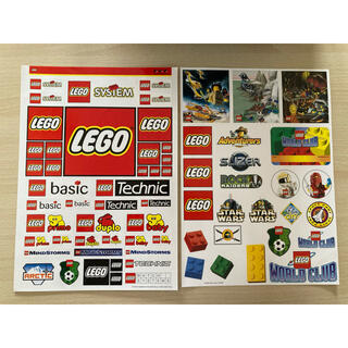 LEGO ステッカー シール