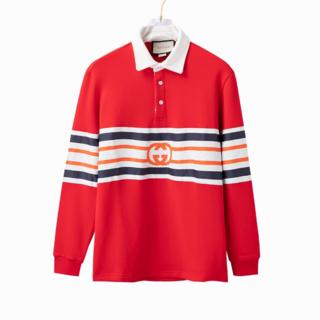グッチ(Gucci)の【GUCCI】インターロッキングGのジャージーポロシャツ(スウェット)