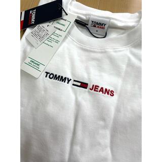 トミーヒルフィガー(TOMMY HILFIGER)のトミージーンズ 刺繍ロゴ コットンTシャツ(Tシャツ/カットソー(半袖/袖なし))