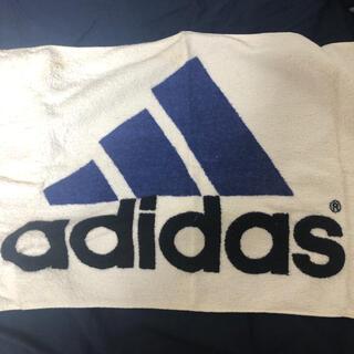 アディダス(adidas)のアディダス タオル 青(その他)