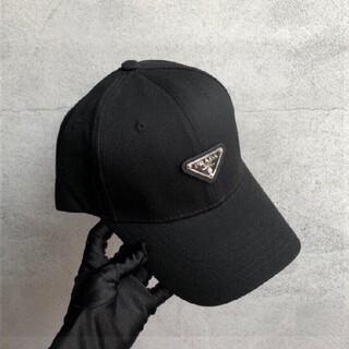 【新作未使用】ちょー超にんき人気プラダやきゅー野球ぼー帽ハットブラック