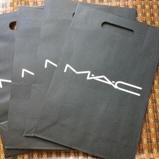 MAC - mac ショッパー 紙袋4枚
