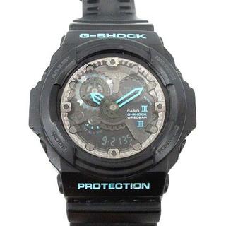 カシオジーショック 腕時計 ウォッチ クォーツ 耐磁時計 黒 GA-300BA(腕時計)