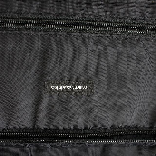 marimekko(マリメッコ)のマリメッコ リュックサック デイパック 黒 ブラック /NM メンズのバッグ(バッグパック/リュック)の商品写真