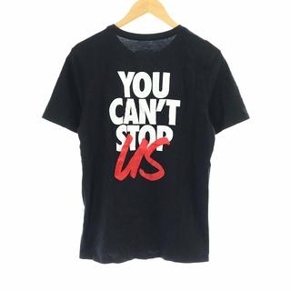 sacai - サカイ ナイキ 20SS Tシャツ カットソー 半袖 プリント ロゴ 2 M 黒