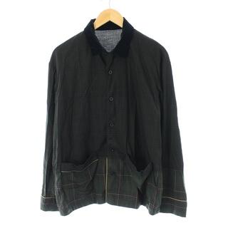 サカイ(sacai)のサカイ 21SS シャツ 長袖 グラデーションチェック 1 S カーキ /NM(シャツ)
