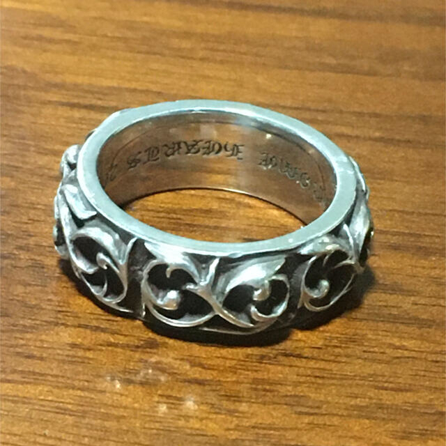 Chrome Hearts(クロムハーツ)の極美 クロムハーツ Chrome Hearts エタニティヴァインバンドリング  メンズのアクセサリー(リング(指輪))の商品写真