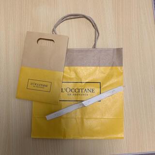 ロクシタン(L'OCCITANE)のロクシタン ショップ袋2個 リボン付き(ショップ袋)