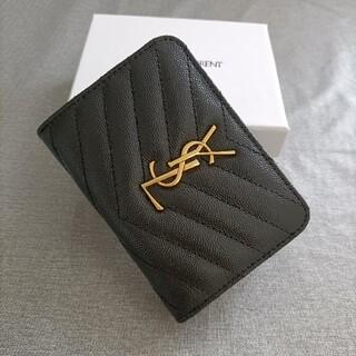 Yves Saint Laurent Beaute - 即納♥二つ折り財布 サンローラン♥名刺入れ
