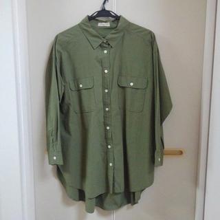 SM2 - SM2 長袖 オーバーサイズ シャツ ブラウス
