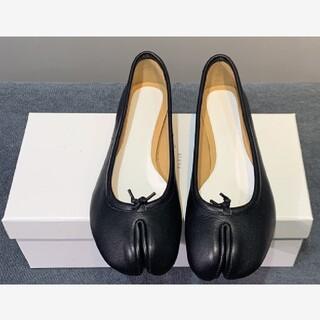 【37】週末お値下げ!MM6 新品未使用 マルジェラ 足袋バレエ  ブラック