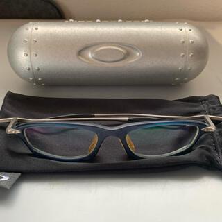 Oakley - OAKLEY 度付きメガネ アルミ製ハードケース セット