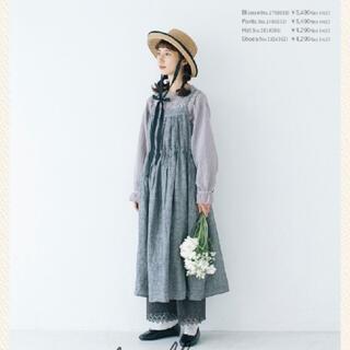 SM2 - サマンサモスモス  kazumiコラボ リネンキャミワンピース ブラック