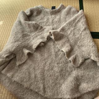 ダブルスタンダードクロージング(DOUBLE STANDARD CLOTHING)のダブスタポンチョ(ニット/セーター)