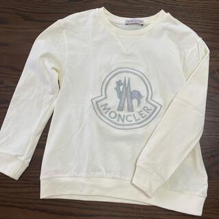 モンクレール(MONCLER)のモンクレール トレーナー キッズ 6A116 オフホワイト(Tシャツ/カットソー)