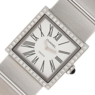 シャネル(CHANEL)のシャネル CHANEL マドモアゼル 腕時計 レディース【中古】(腕時計)