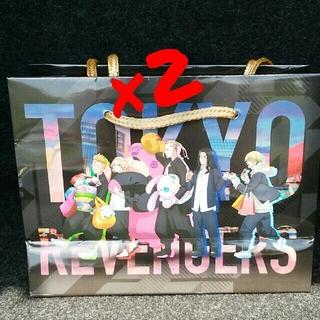 バンダイナムコエンターテインメント(BANDAI NAMCO Entertainment)の東京リベンジャーズ ナムコ限定 ショッパー 紙袋(ノベルティグッズ)