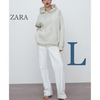 ZARA - 【新品・未使用】ZARA オーバーサイズ フーディ L