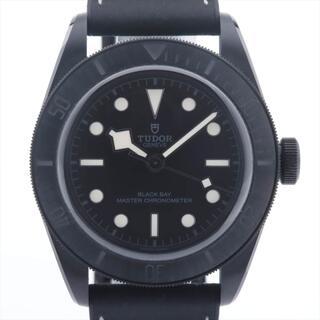 チュードル(Tudor)のチュードル ブラックベイ SS×革   レディース 腕時計(腕時計)